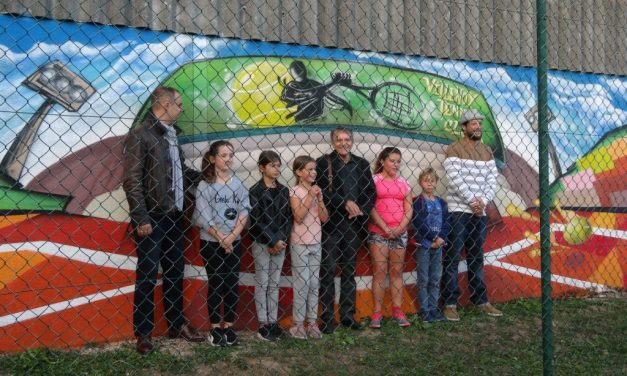 VERNISSAGE DE LA FRESQUE « STREET ART »