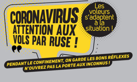 CORONAVIRUS – ATTENTION AUX VOLS PAR RUSE