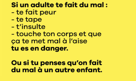 PREVENTION VIOLENCE ENFANTS